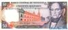 50 Боливаров выпуска 1995 года, Венесуэла. Подробнее...