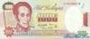 1.000 Боливаров выпуска 1995 года, Венесуэла. Подробнее...