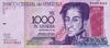 1.000 Боливаров выпуска 1998 года, Венесуэла. Подробнее...