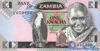 1 Квача выпуска 1980 года, Замбия. Подробнее...