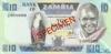 10 Квач выпуска 1984 года, Замбия. Подробнее...