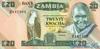 20 Квач выпуска 1980 года, Замбия. Подробнее...