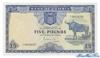 5 Фунтов выпуска 1964 года, Замбия. Подробнее...