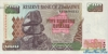 500 Долларов выпуска 2001 года, Зимбабве. Подробнее...