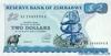 2 Доллара выпуска 1994 года, Зимбабве. Подробнее...