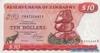 10 Долларов выпуска 1983 года, Зимбабве. Подробнее...