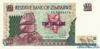 10 Долларов выпуска 1997 года, Зимбабве. Подробнее...