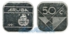 Аруба 50 cents 1986+ год(ы) (km#4). Подробнее о монете...