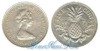 Багамы 5 cents 1973 год (km#38). Подробнее о монете...