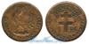 Камерун 1 franc 1943 год(ы) (km#7). Подробнее о монете...