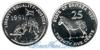Эритрея 25 cents 1997 год(ы) (km#46). Подробнее о монете...