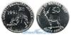 Эритрея 50 cents 1997 год(ы) (km#47). Подробнее о монете...
