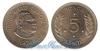 Тонга 5 seniti 1968 и 1974 год(ы) (km#29). Подробнее о монете...