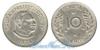 Тонга 10 seniti 1968 и 1974 год(ы) (km#30). Подробнее о монете...