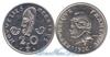 Вануату 20 francs 1967 и 1970 год(ы) (km#3.1). Подробнее о монете...